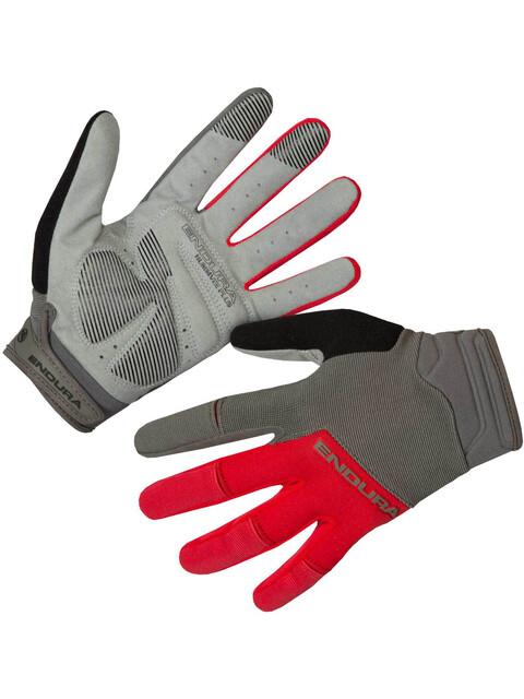 Endura Hummvee Plus II Gloves red